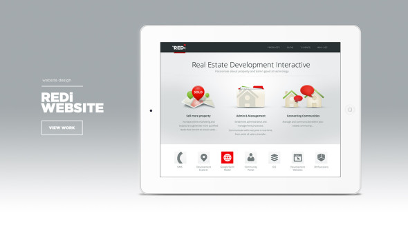 redi website design
